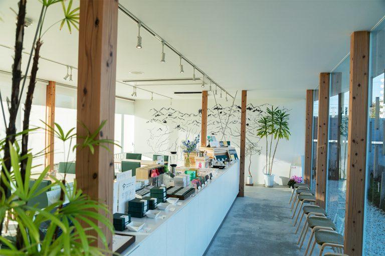 静岡 〈san grams green tea & garden cafe 本店〉