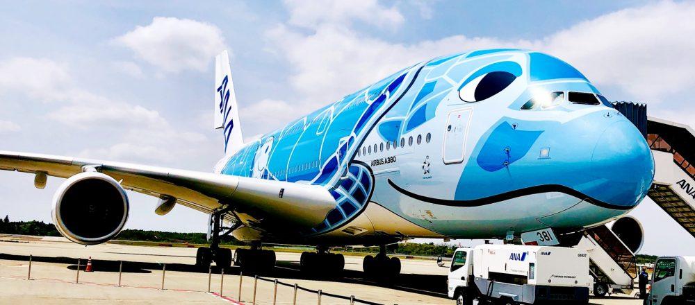 「空飛ぶウミガメ」に乗ってハワイへ!世界最大の旅客機A380型〈FLYING HONU〉ホノルル線が登場。