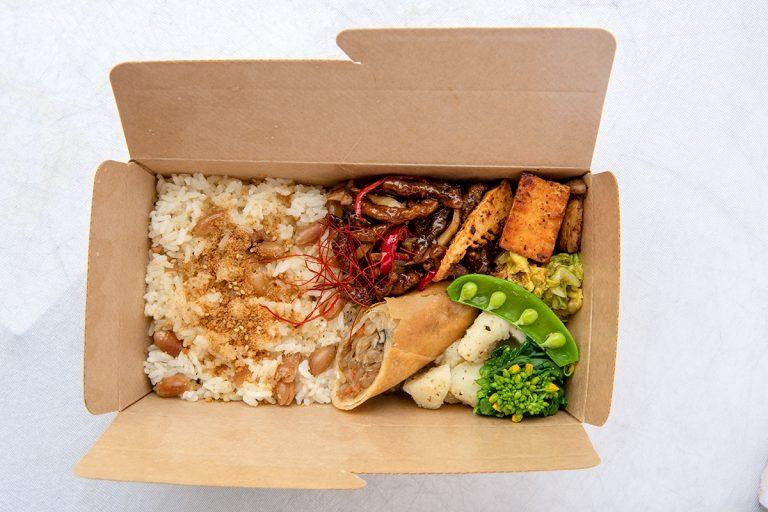 〈葉山MEALS〉の台湾式健康素食弁当