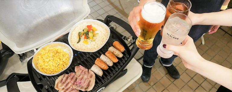 タワレコの屋上でBBQ!〈REAL BBQ GARDEN タワーレコード渋谷店〉が期間限定オープン。