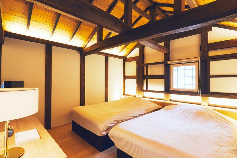 同ベッドルーム。