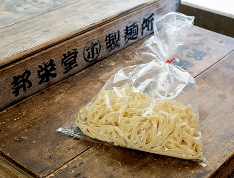 "<span class=""title"">邦栄堂製麺</span>"