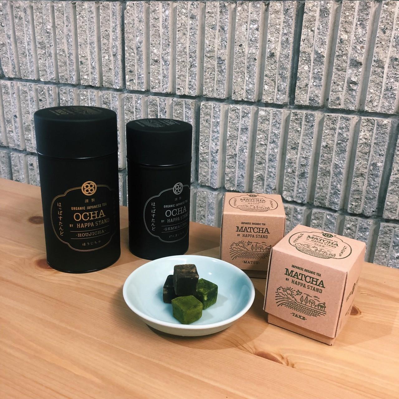 本来の日本食文化を伝える、オーガニックなお茶〈HAPPA STAND〉へ。