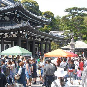 お寺とコラボした注目イベントへ!【鎌倉】注目のお祭りやマルシェ、音楽フェス。
