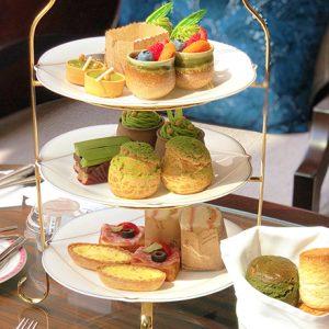 〈ウェスティンホテル東京〉初開催の土日祝限定「抹茶アフタヌーンティー」に注目!抹茶尽くしの休日を。