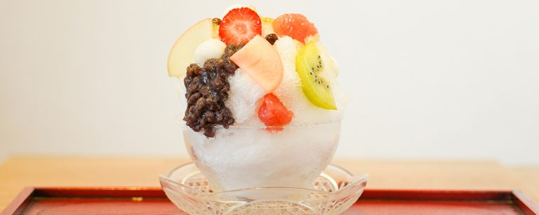 福岡で絶品かき氷を楽しむならこの3軒!製氷会社の専門店からパティシエお手製まで。