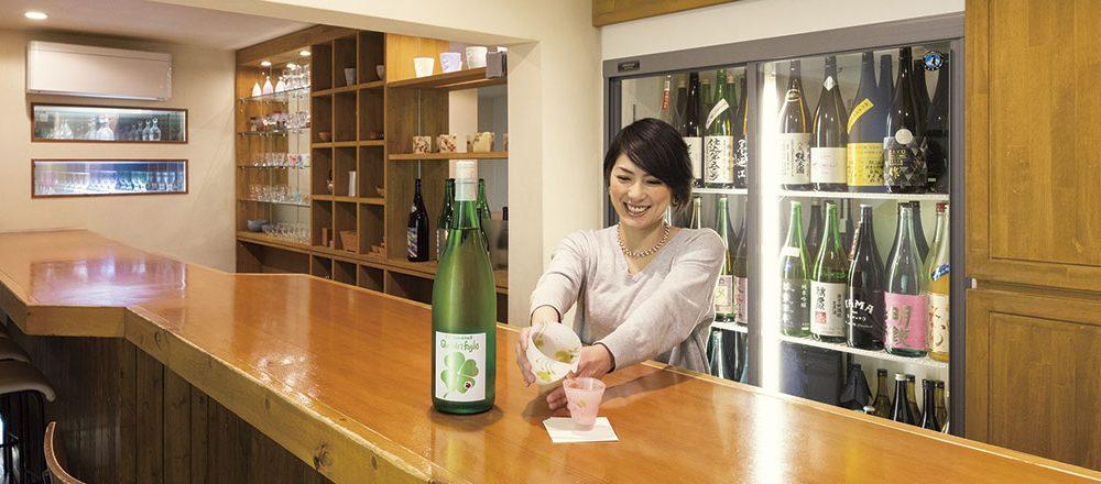 日本酒バー 雲レ日