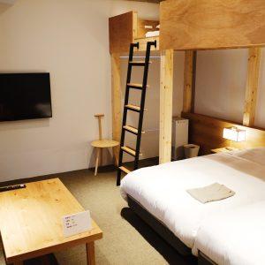 LOFT 4タイプの客室。