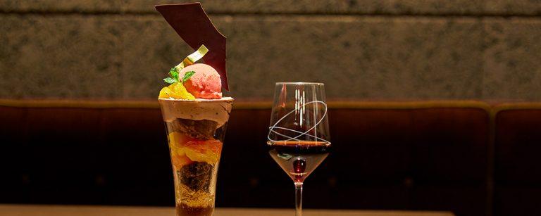 パフェ評論家が厳選した、お酒も楽しめる夜パフェ店4選!ワインとのマリアージュも必見。