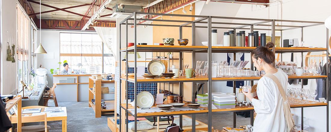 おしゃれなカフェや雑貨店が続々オープン!福岡中心街から1時間、うきはエリアで雑貨ショップ巡り。