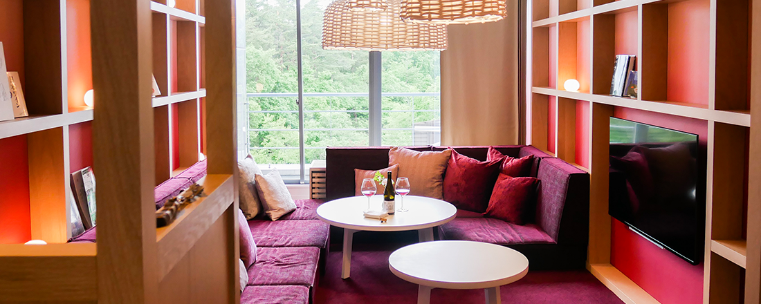 ワイン好き必見の新客室が登場!〈星野リゾート リゾナーレ八ヶ岳〉で極上の休日を。