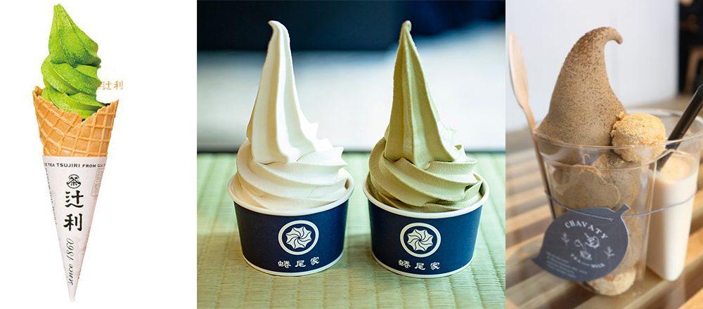この夏食べたい、人気お茶専門店の濃厚「お茶ソフトクリーム」3選!抹茶に烏龍茶も。
