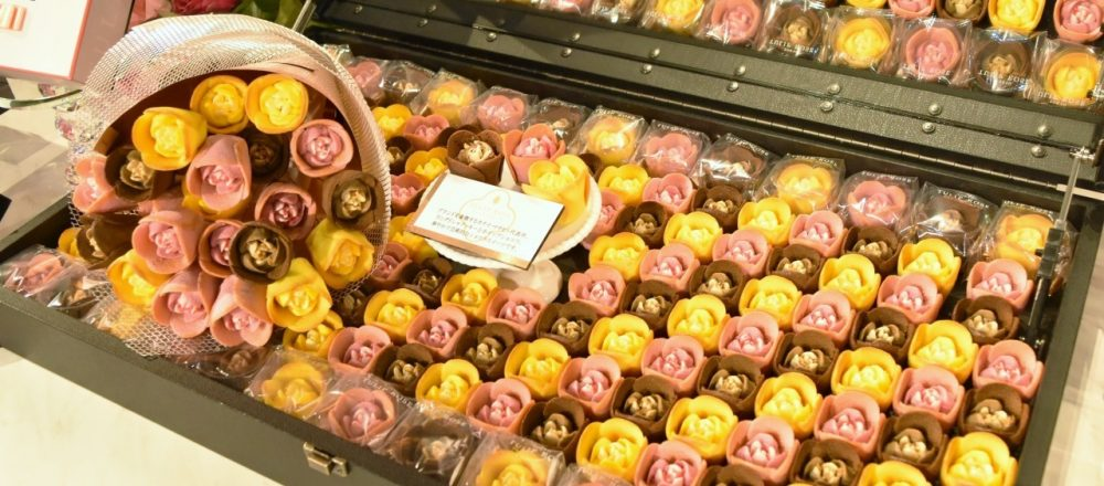 可愛くて美味しい〈TOKYO チューリップローズ〉が東京駅にオープン!