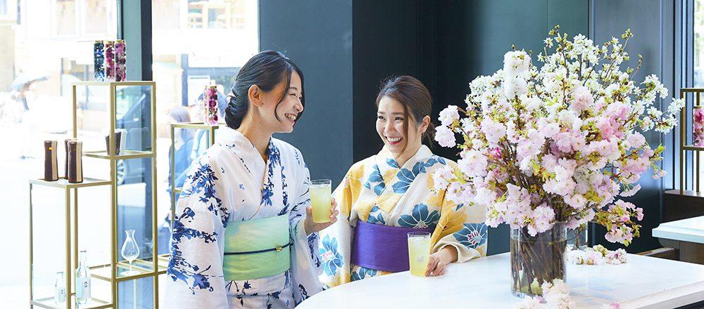 8月3日(土)「ゆかたで銀ぶら2019」Hanakoスペシャルフォトスポット、つくりました!