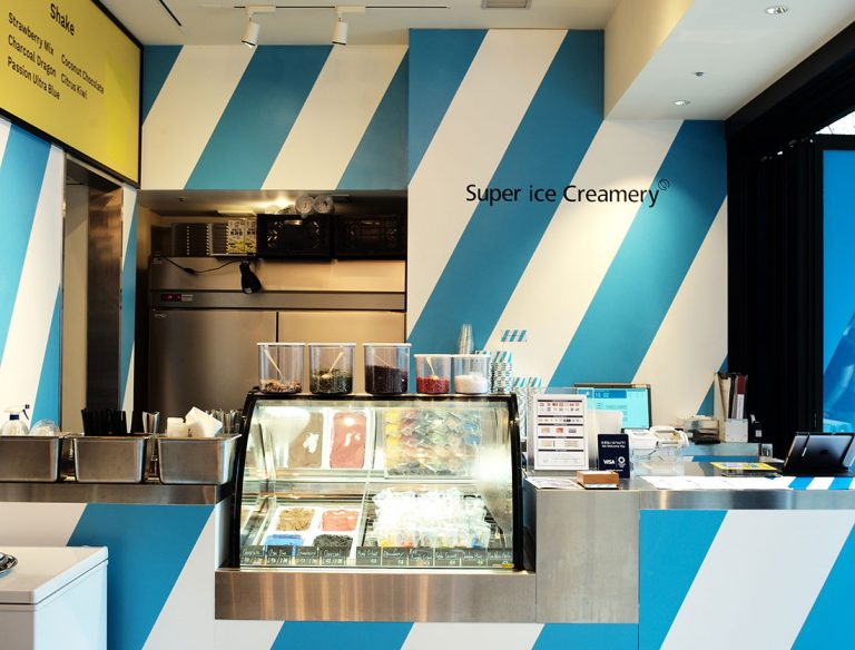 "<span class=""title"">Super ice Creamery 渋谷ストリーム店</span>"