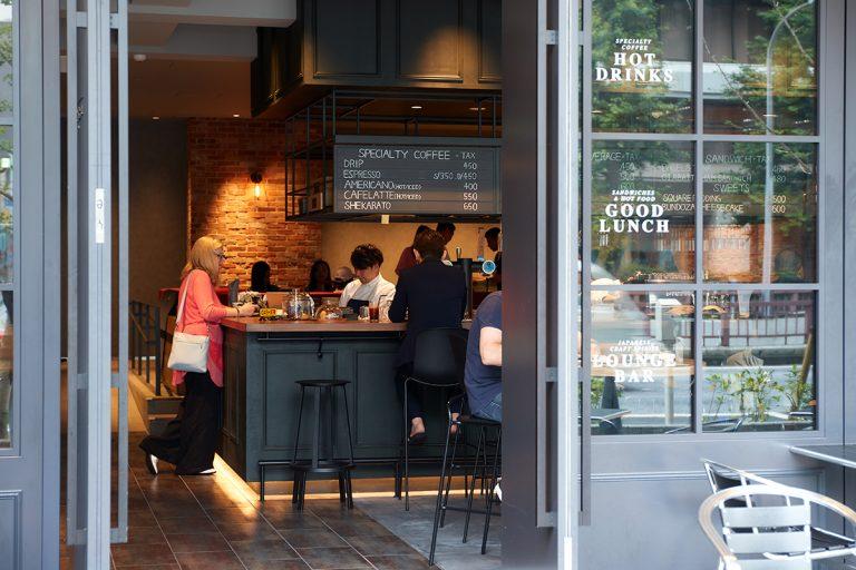 ザ・スクエアホテル銀座 BUNDOZA CAFE & BAR