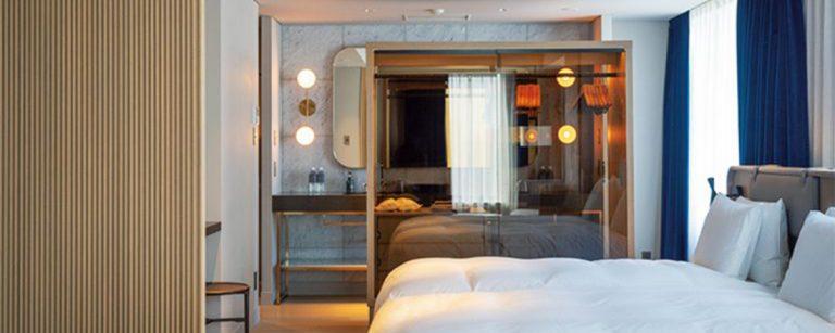 若手クリエイターが育つ街らしいホテルが登場!上野〈NOHGA HOTEL UENO〉のおしゃれなアメニティー、インテリアまで。