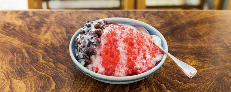 昔ながらのレトロかき氷に胸きゅん。【東京】地元で愛され続ける甘味処・パーラー3軒