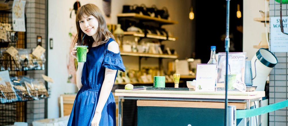 """""""抹茶""""の魅力をカジュアルに伝える。築地の老舗海苔専門店が手がける〈MATCHA STAND MARUNI〉へ。"""