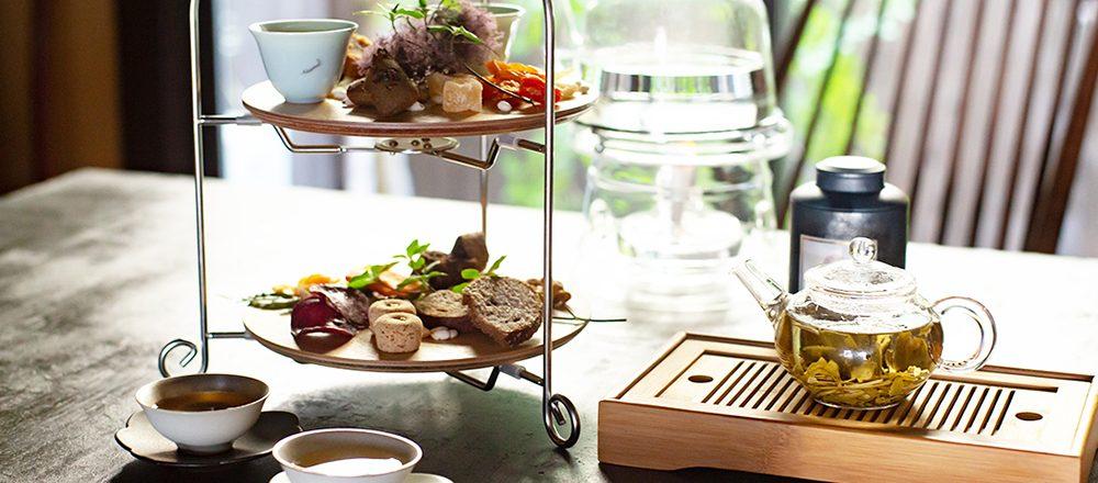 【京都】築100年京町家の中国茶藝館〈閑是〉でオリエンタルなアフタヌーンティーを。