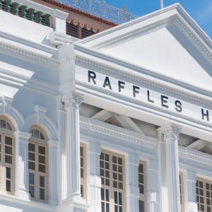 待ってました。シンガポールの名ホテル〈ラッフルズ シンガポール〉が、かえってきた!