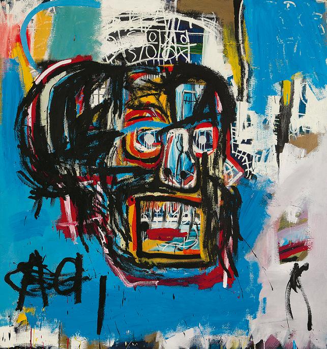 ジャン=ミシェル・バスキア「Untitled」 1982 Yusaku Maezawa Collection, Chiba Artwork(c)Estate of Jean-Mich el Basquiat. Licensed by Artestar, New York