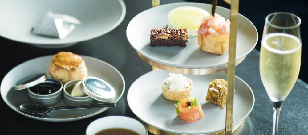 1日20食限定!〈ザ ロイヤルパーク キャンバス 銀座8〉14階にあるレストラン〈Opus〉で、シンプルモダンなアフタヌーンティー登場。