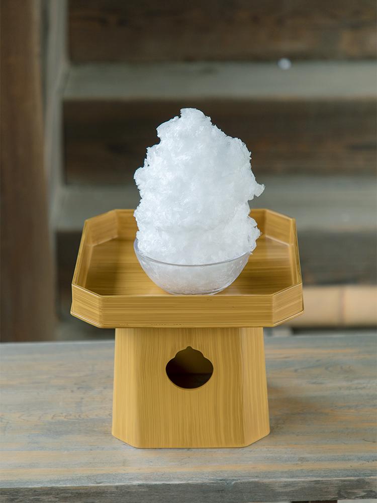 氷室神社 かき氷