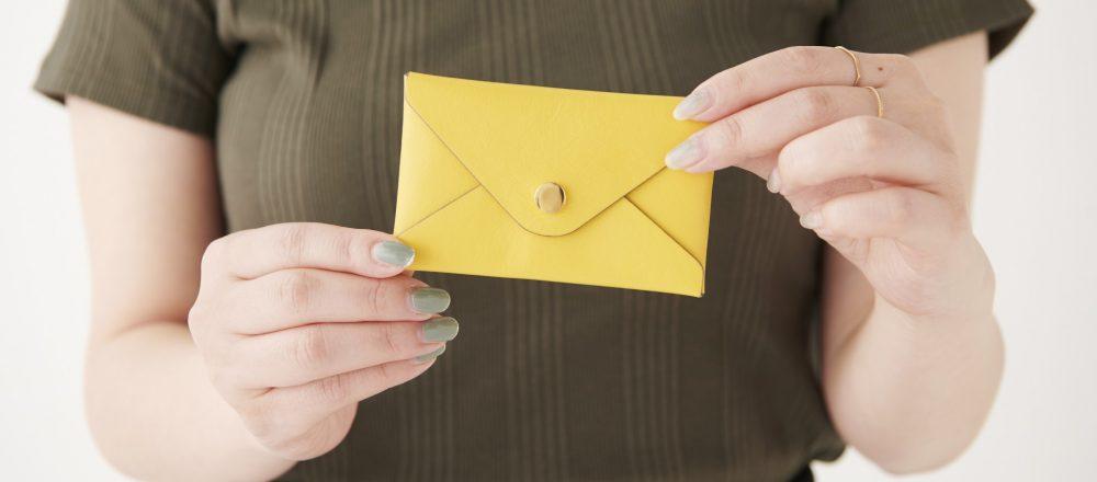 働く女子の愛用品。〈バーニーズ ニューヨーク〉の名刺入れ/アパレルメーカーの企画・鈴木沙知さん