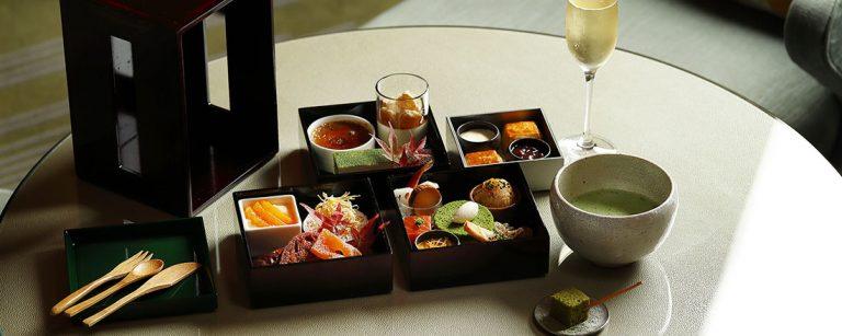 〈パレスホテル東京〉×〈寿月堂〉がコラボ!「日本茶アフタヌーンティー」で秋を楽しもう。