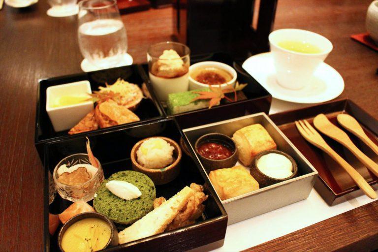 パレスホテル東京 寿月堂 日本茶アフタヌーンティー