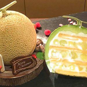 今年のクリスマスは〈ハイアット リージェンシー 東京〉まるごとメロンのケーキをチェック!