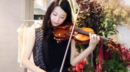 ヴァイオリニスト花井悠希さんが手掛ける〈PANORMO〉初のPO …