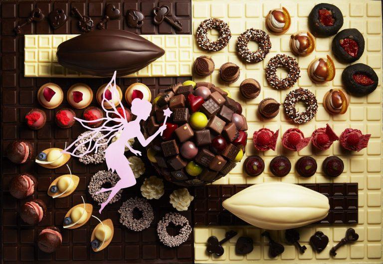 「チョコレート・スイーツブッフェ」_シャンパン・バー