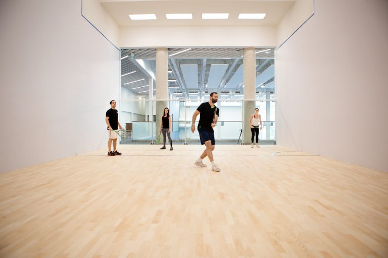 10XTO - 1 of 9 Glass Back Squash Courts