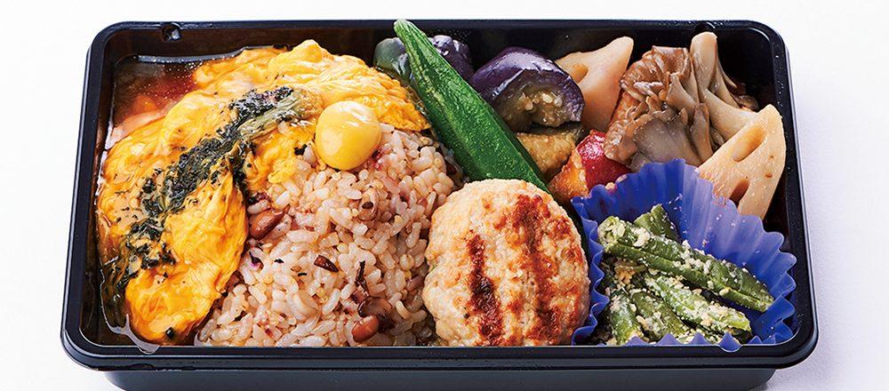 丸の内で注目ランチ登場!人気11店舗が「5種類以上の野菜を使ったヘルシー弁当」を提案。