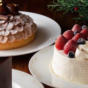"""〈ホテル椿山荘東京〉の2019年クリスマスケーキ。""""究極のショートケーキ""""は予約必至!"""