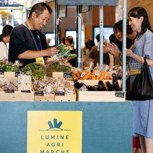仕事帰りに立ち寄れる、新宿駅近の都心型マルシェとは?「ルミネと、おいしいマルシェ」。