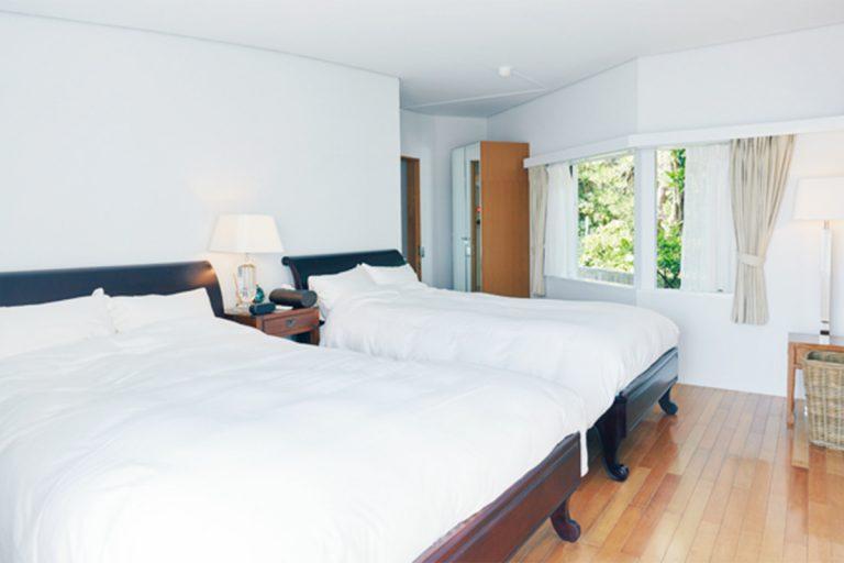 布団の用意もあり、1棟に最大6名程度まで宿泊可能。