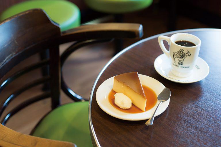 コーヒー450円、プリン400円(各税込)