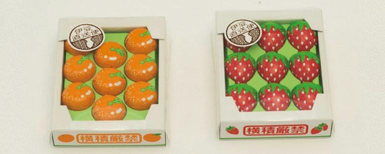 人気温泉エリア・伊豆のキュートな手土産グルメ・雑貨4選。出荷用箱入りフルーツチョコに、ハトヤサブレ!?
