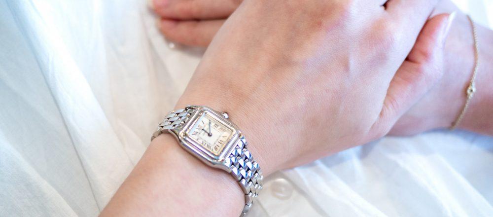 働く女子の愛用品。〈カルティエ〉の腕時計/会社員・大木みなみさん