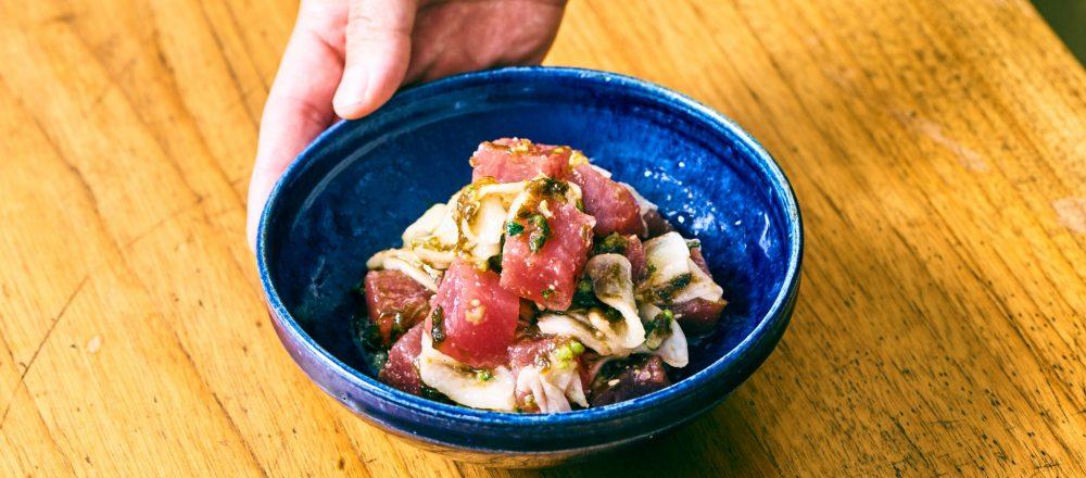 料理家さんたちが提案!ご当地おみやげのアレンジレシピ 「マグロとかぶの生のり佃煮」