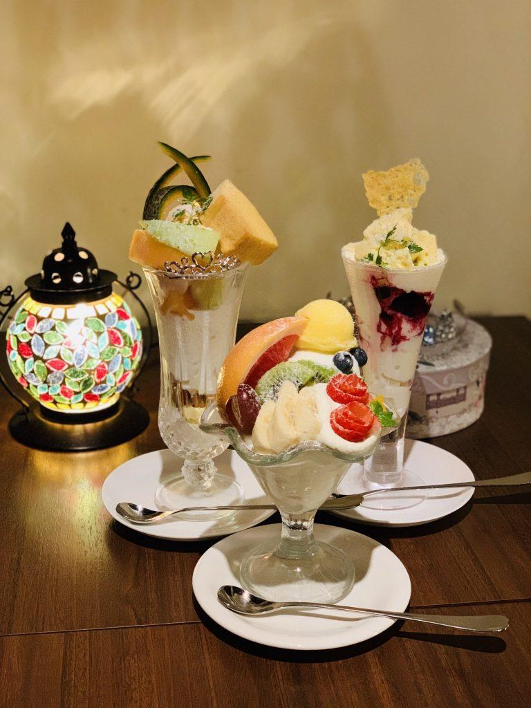 札幌 パフェ専⾨店 幸せのレシピ