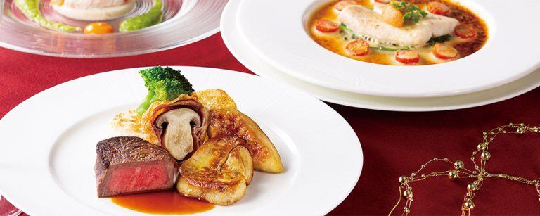 〈京王プラザホテル〉 のクリスマスディナー&スイーツ2019がお披露目。