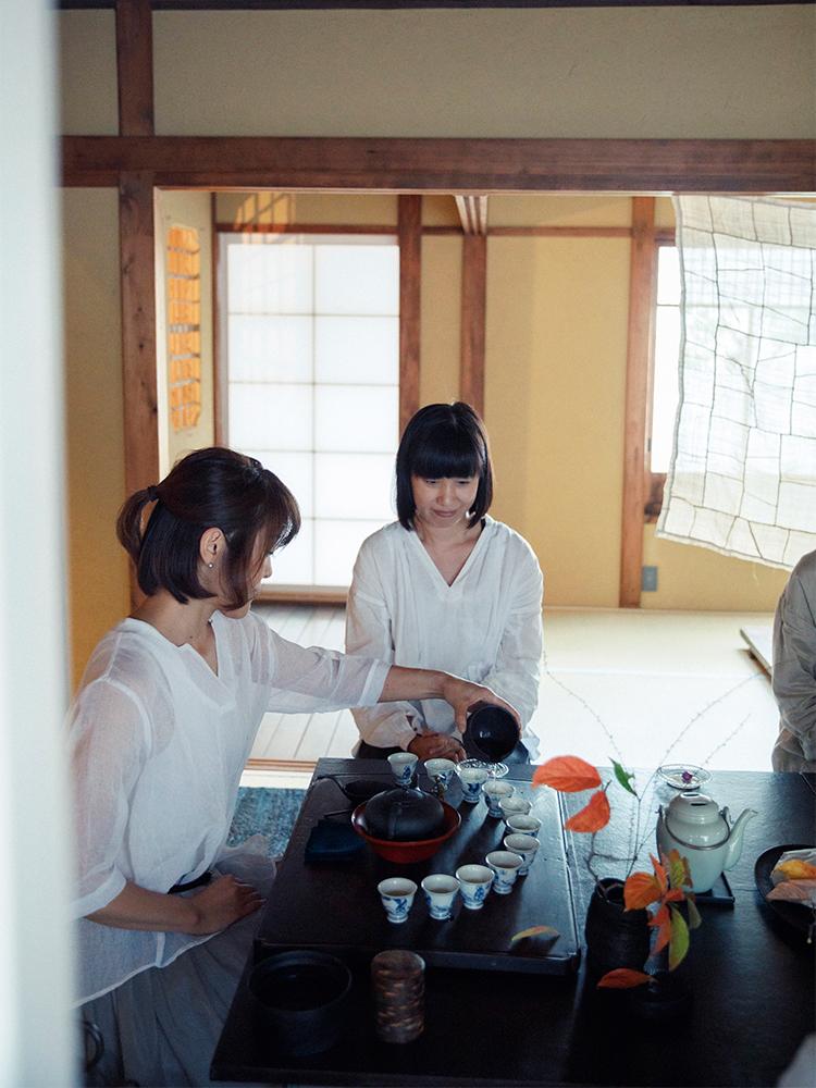 京都小慢 中国茶教室