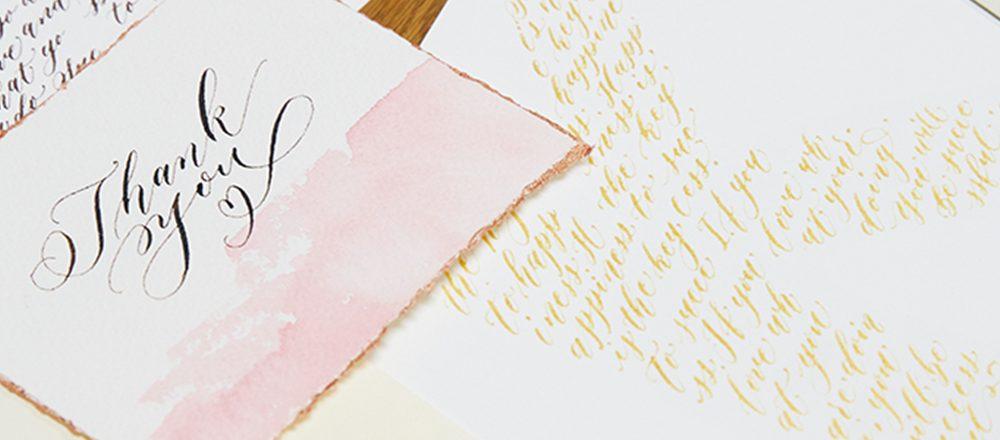 「カリグラフィー」を習う。九段下〈Paper Tree〉で、自分らしい文字を書くレッスンを。