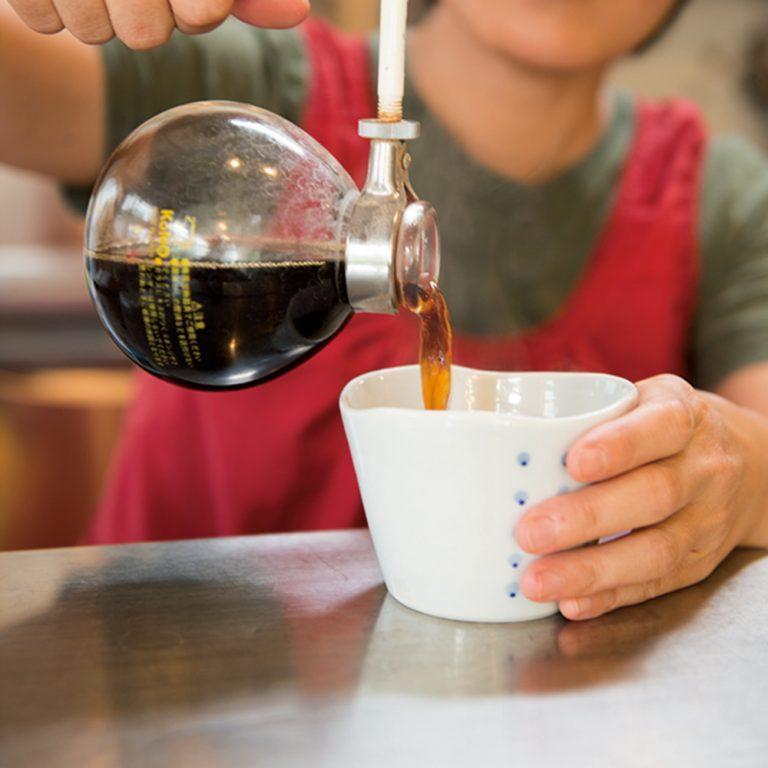 〈八百コーヒー店〉/千石