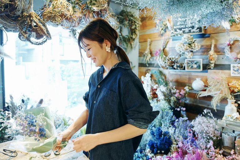 「店内が狭いので、ワークショップの定員は1回で4名くらい」と成松さん。