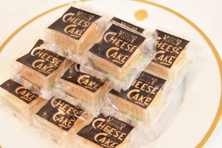 銀座生まれで銀座育ち。チーズよりチーズらしい「チーズケーキ」 3個入り918円、6個入り1,836円 9個入り2,700円。